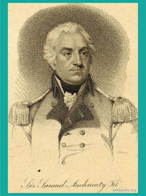 Jenderal Samuel Auchmuty