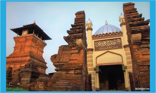 masjid agama islam menara kudus