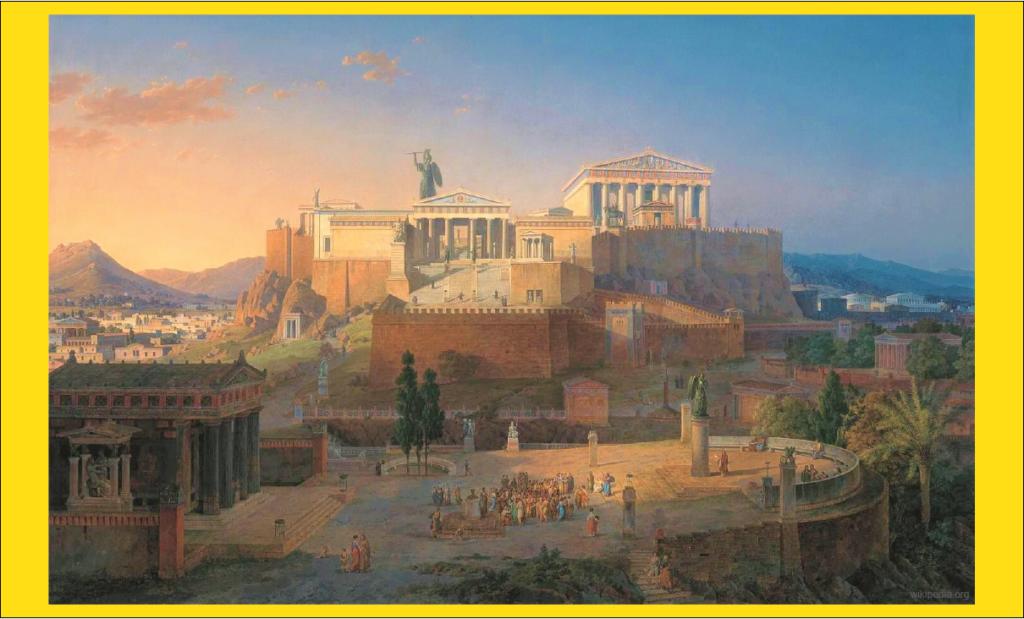 Rekonstruksi Acropolis di Athena