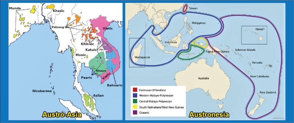 austro asia dan austronesia