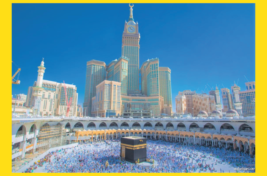 kabah di mekah sejarah islam