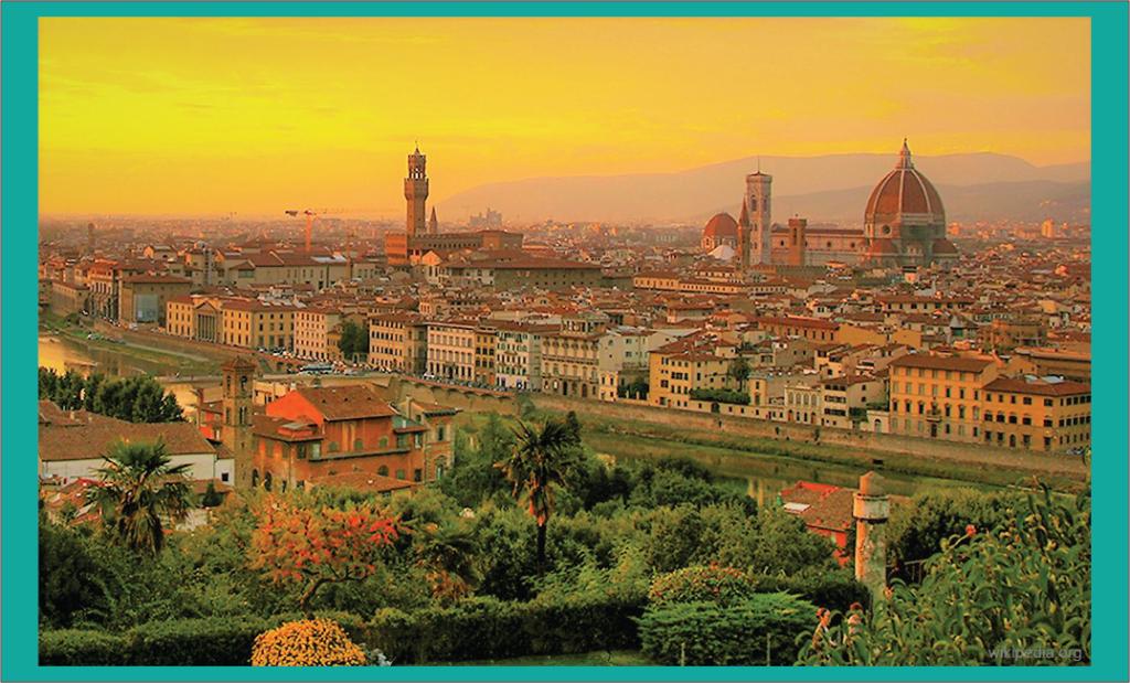 kota Florence lahirnya Renaisans dan humanisme