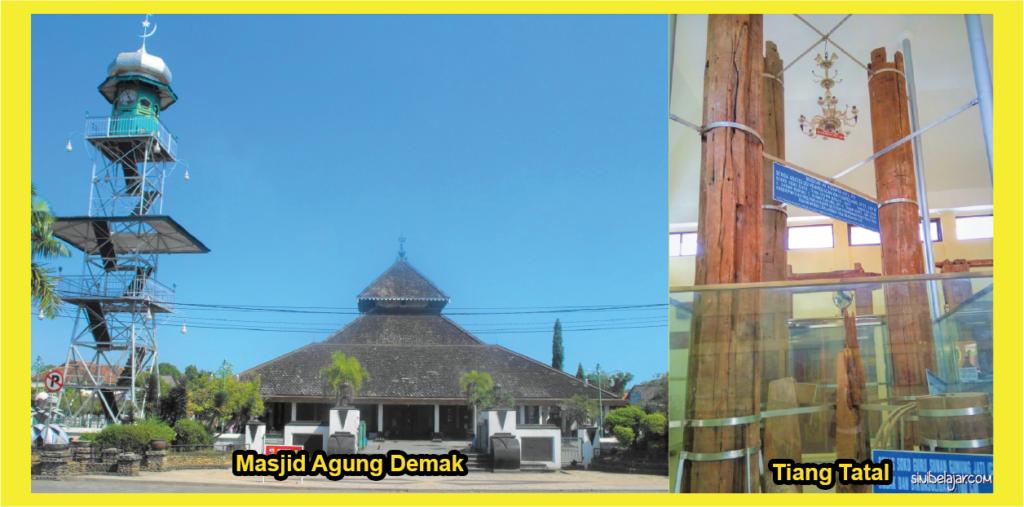 masjid demak dan tiang tatal