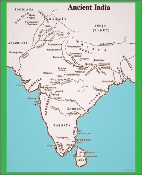 peradaban peta india kuno