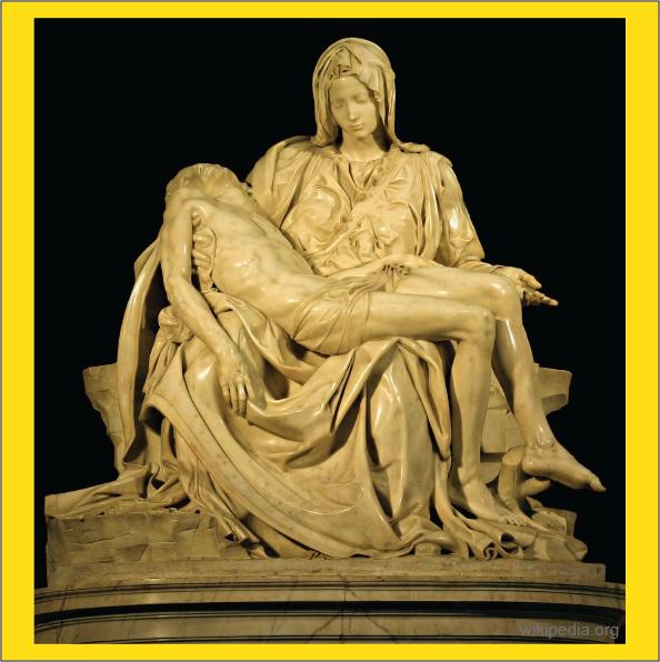 pieta karya Buonarroti Michelangelo