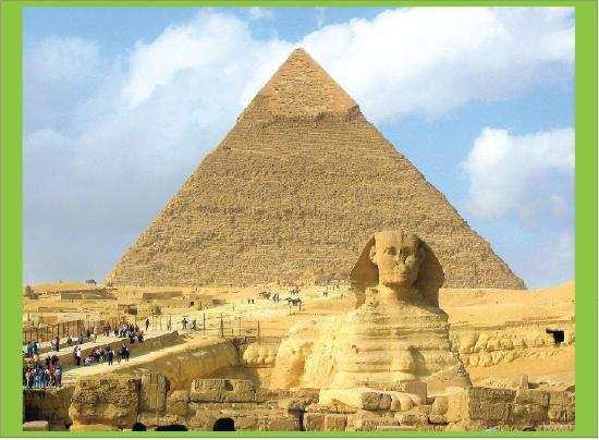 Sphinx dan Piramid di Mesir