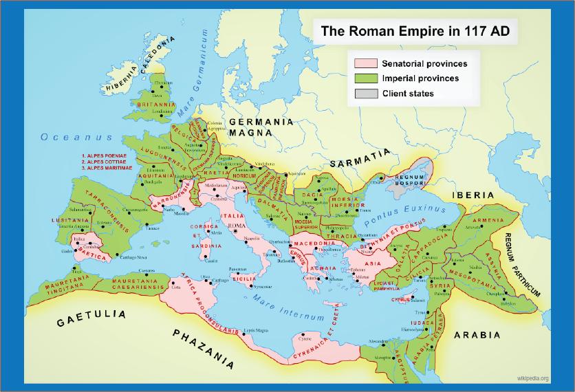 wilayah kekuasaan romawi