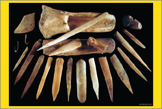 alat dari tulang bone culture
