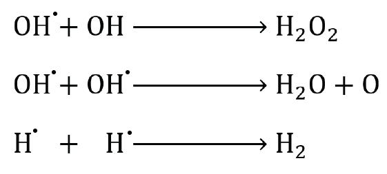 reaksi radikal oh dan h